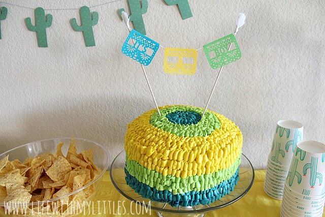 If you're looking for a unique, clever, and easy baby shower theme, try this! Here's how to throw a fiesta-themed baby shower, complete with nacho bar and Mexican-inspired desserts!