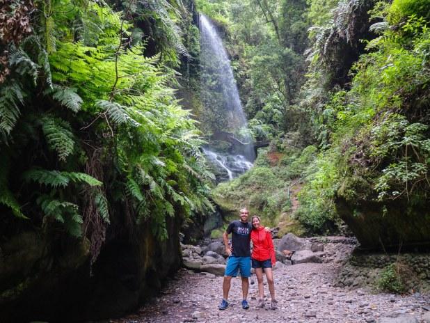 Cascada de los Tilos en La Palma