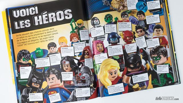 Review LEGO DC Comics Super Heroes Le Super Guide avec Wonder Woman
