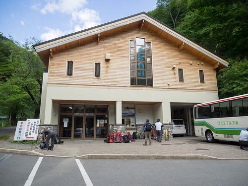 広河原バス停