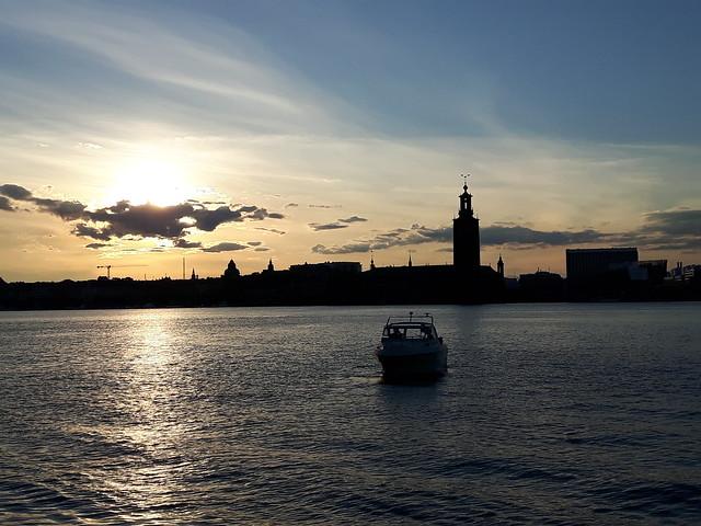 Sunset Södra Mälarstrand