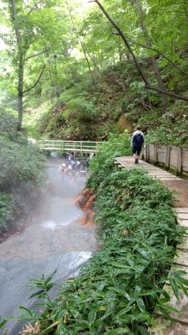 River Oyunuma Natural Footbath
