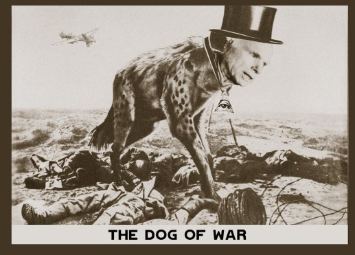 THE DOG OF WAR