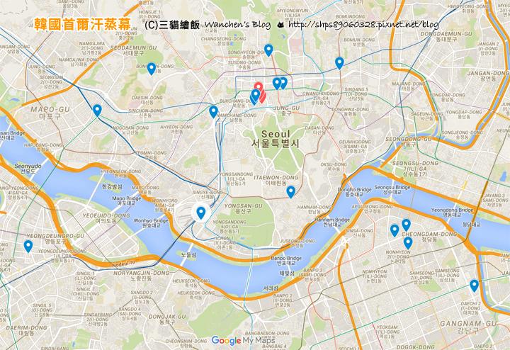 hanjeungmak map