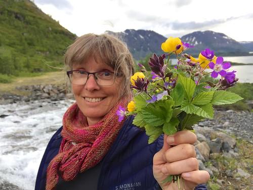Blomsterpiken i Bergsfjord...