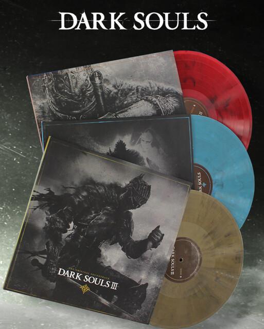 Dark Souls Vinyl Trilogy