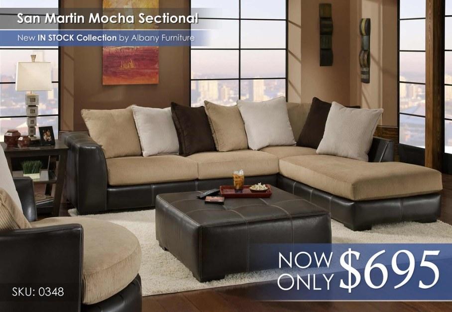 San Marino Sectional 0348