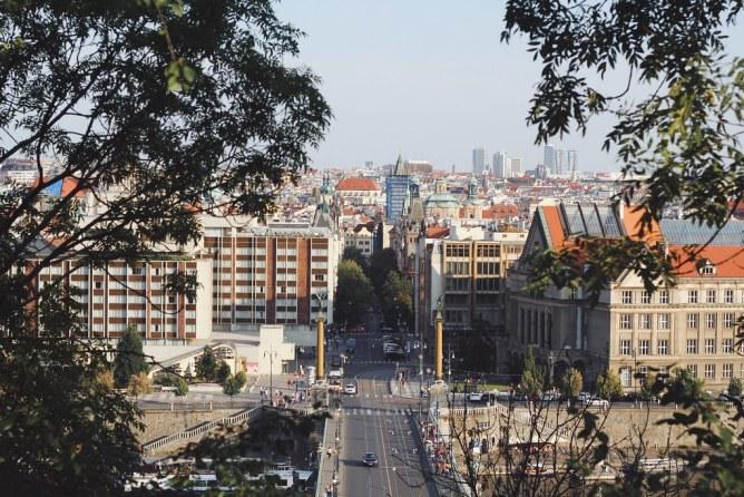 Prahan maisemapaikat   Prague viewpoints
