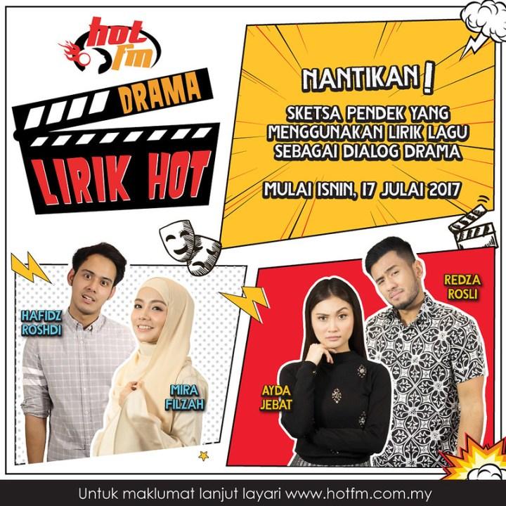 Hadiah RM60,000 Untuk DRAMA LIRIK Hot FM!