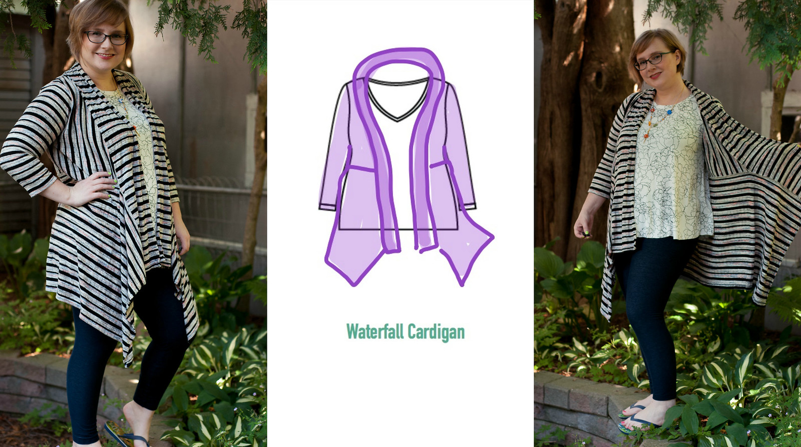 4 Cardigan Hacks from 1 T-Shirt Pattern!