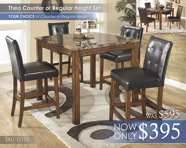 Theo Set Counter Regular D158-233-SD