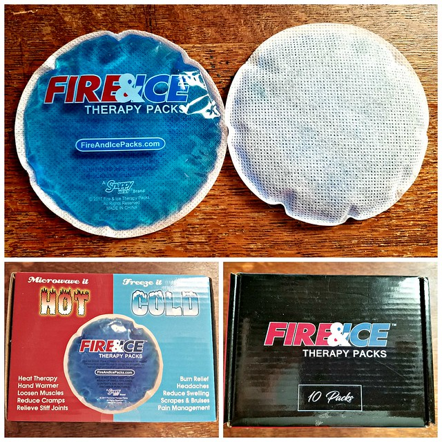 Enter to #Win a 10 pk of these Fire & Ice Therapy Packs here: