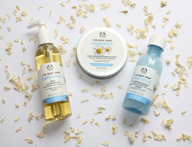 The Body Shop Camomile Cleansers