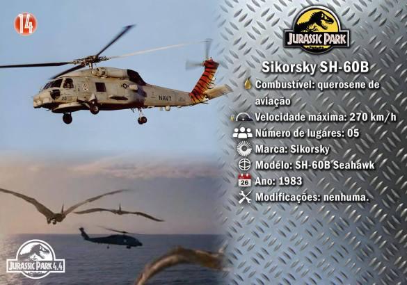 14 Sikorsky SH-60B