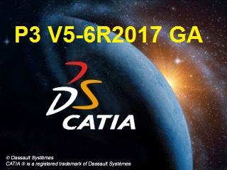 DS CATIA P3 V5-6R2017