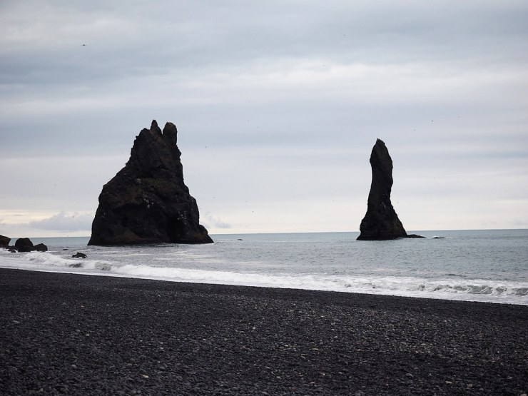 Reynisfjara Black Sand Beach, Iceland. Make sure to add this incredible beach to your Iceland road trip. Right off the Ring Road, it's a can't miss stop! #iceland #icelandtravel #blacksandbeach