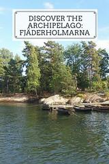 Discover the archipelago - Fjäderholmarna