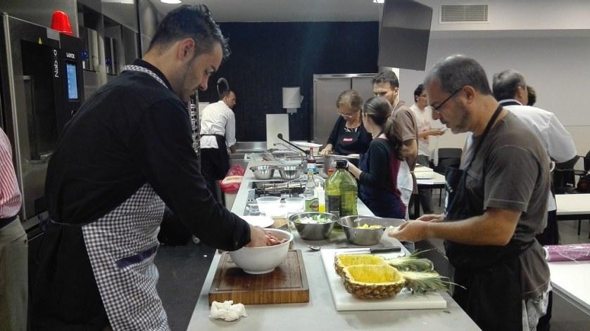 Curso de cocina china en el CETT
