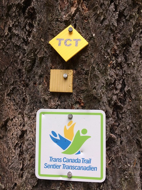 Trans Canada Trail signs