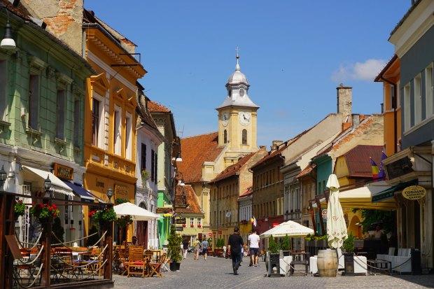 Brașov old city