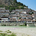 View on Berat, Albania