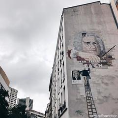 #bach #streetart #parisjetaime #paris #visitparis #france #visitfrance #travel #wanderlust #vsco #vscocam #travelphotography #topparisphoto #seemyparis #topfrancephoto #igersparis #guardiantravelsnaps #guardiancities #explore #découvrirensemble
