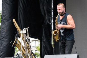Colin Stetson @ Pitchfork Music Festival, Chicago IL 2017