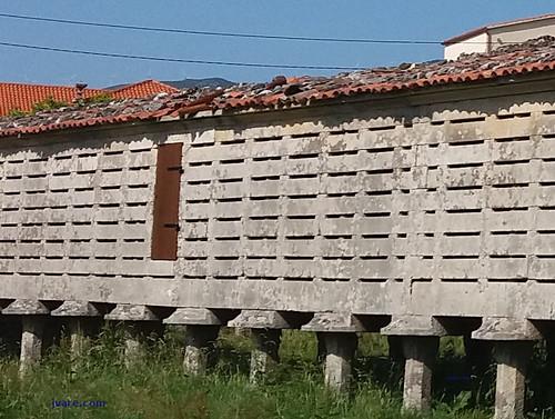 Tejado Horreo Carnota 2017