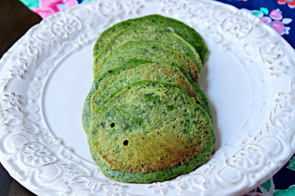 Spinach Pancakes -edit