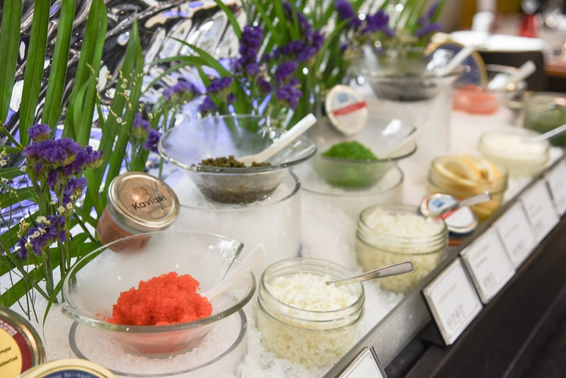 caviar counter ash and elm sunday brunch
