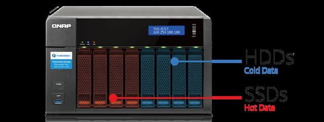 แบ่งการเก็บข้อมูลใน HDD และ SSD