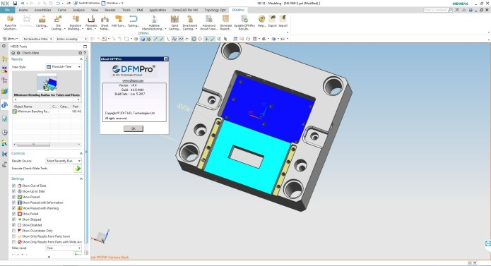 Geometric DFMPro v4.4.0.4444 for NX 11.0 Win32 win64