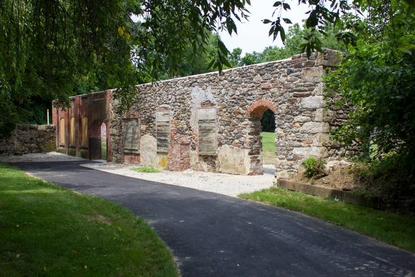 garrett snuff mill-arches