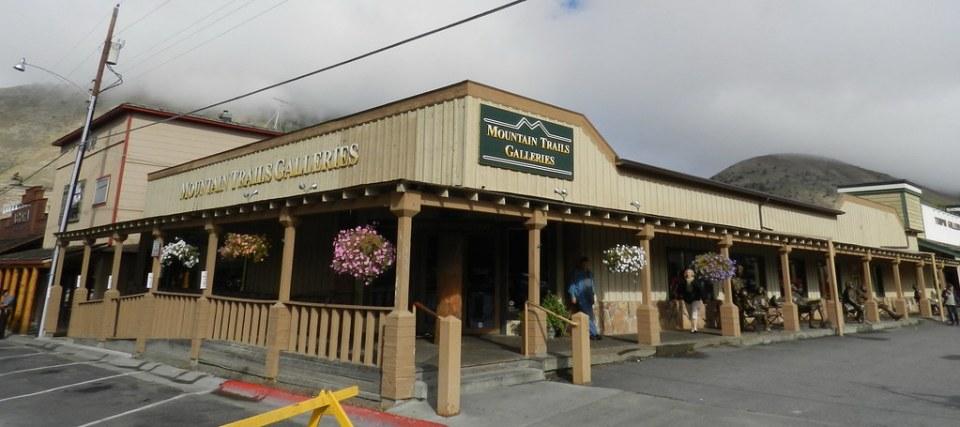 Jackson tiendas Mountain Trails Galleries shops California EE UU 05