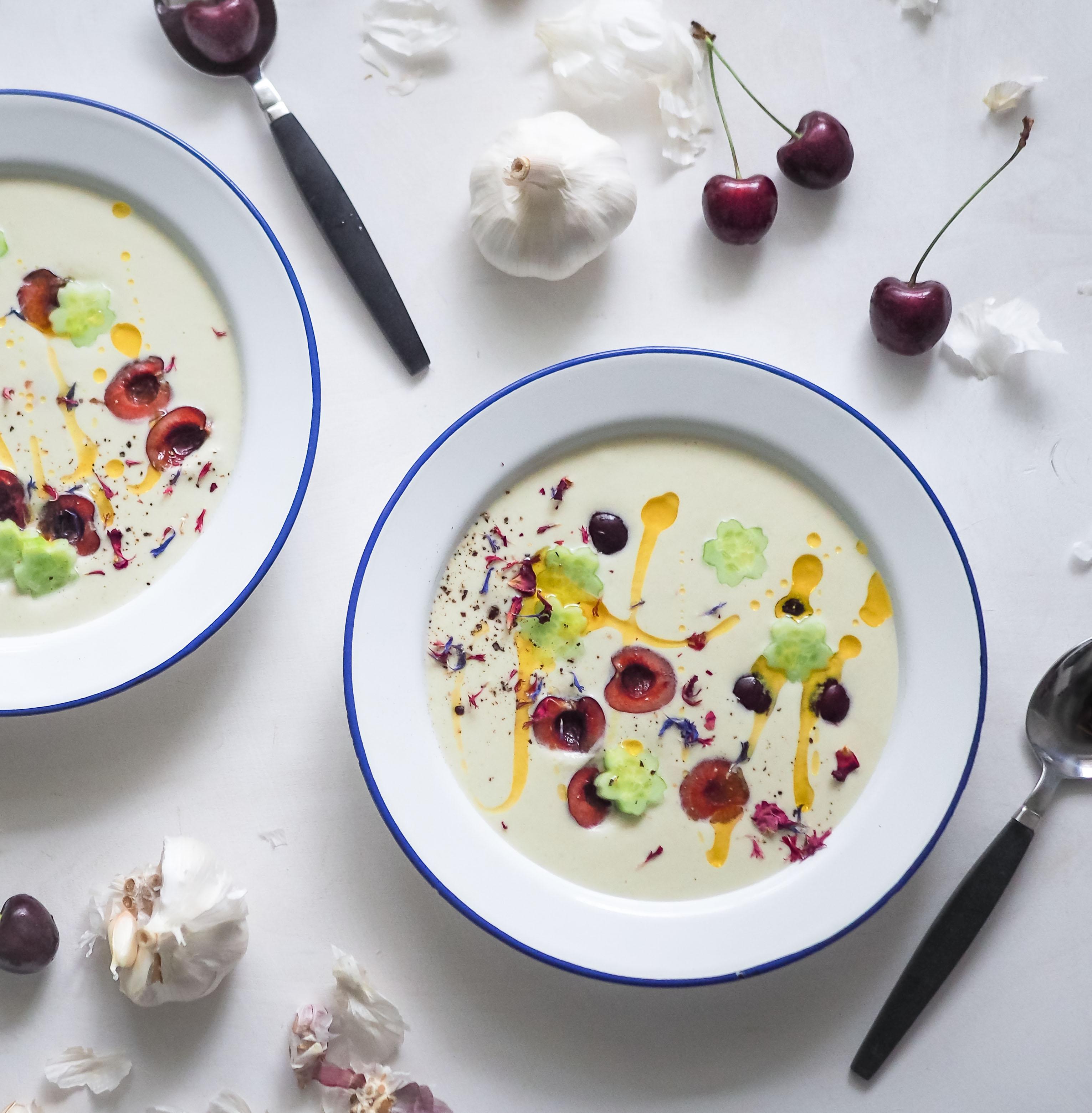cherry ajo blanco