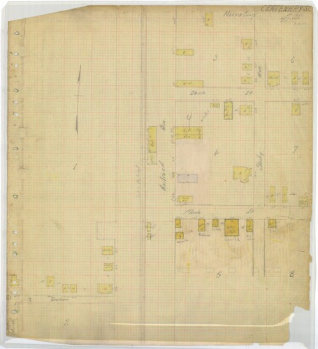 Centenary 1920 Sanborn Map