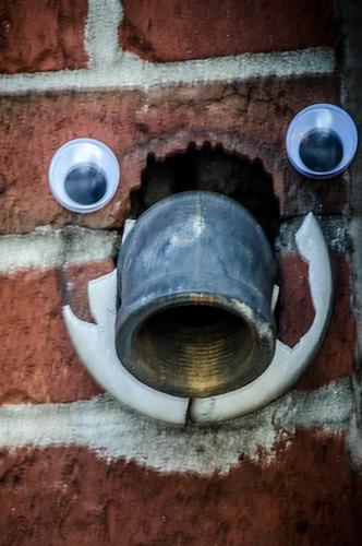 Googly-Eye Bombing Downtown Greenville-12