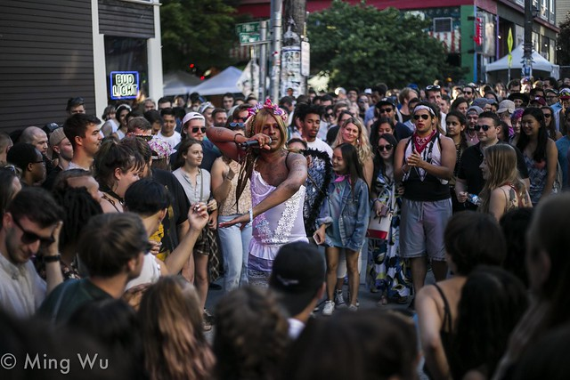 Mykki Blanco @ Capitol Hill Block Party 2017