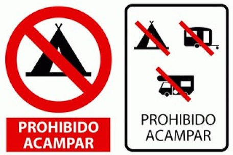 Prohibido-Acampar
