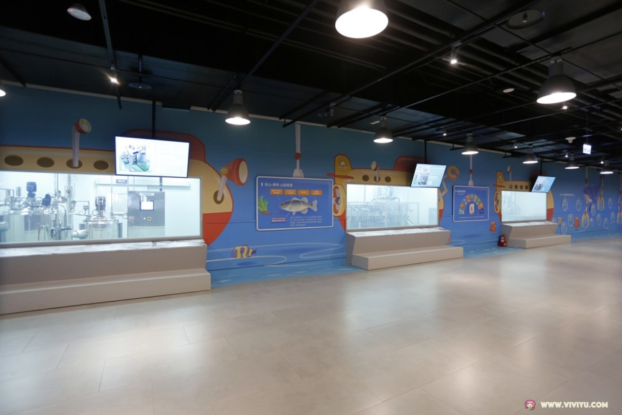 互動科技,安永微型工廠,安永心食館,宜蘭景點,宜蘭觀光工廠,海洋奇幻秀,海洋漁樂館,烘焙DIY教室,烘焙生產線,觀光工廠 @VIVIYU小世界