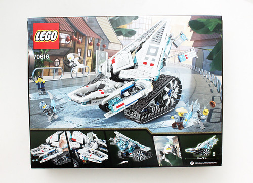 LEGO Ninjago Movie Ice Tank  70616  Review   The Brick Fan LEGO Ninjago Movie Ice Tank  70616