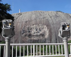 Stone Mountain Confederate Memorial Carving