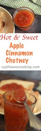 Apple cinnamon sauce7-down