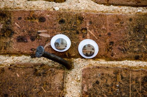Googly-Eye Bombing Downtown Greenville-27