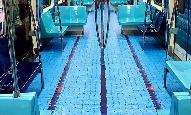 Fatti e Misfatti, le notizie dal mondo del nuoto: una piscina nella metro a Taiwan!