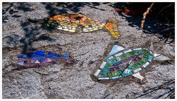 Mosaics at the beach