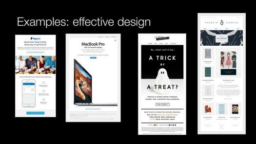 Effective design examples