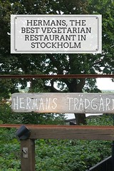 Hermans, the best vegetarian restaurant in Stockholm