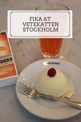 Fika at Vetekatten in Stockholm
