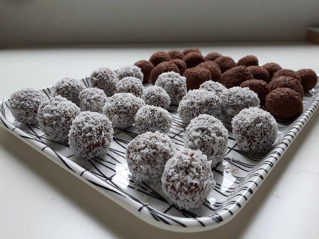 Zweedse chocoladeballetjes - chokladbollar